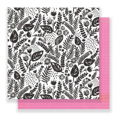 Crate Paper - Good Vibes 12x12 Paper - Flourish