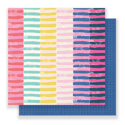 Crate Paper - Good Vibes 12x12 Paper - Passion