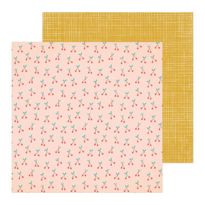 Crate Paper - La La Love 12x12 Patterned Paper - Sugar Sugar