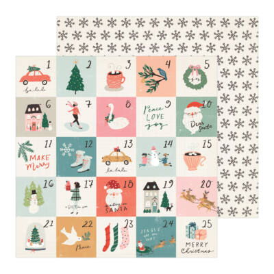 Crate Paper - Merry Days 12x12 Paper - Stockings