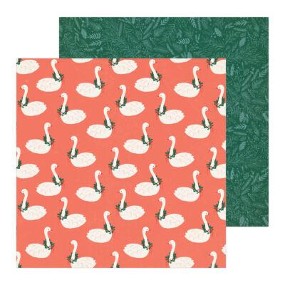 Crate Paper - Merry Days 12x12 Paper - Twelve Days