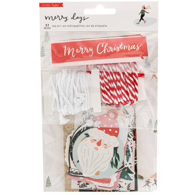 Crate Paper - Merry Days Tag Kit