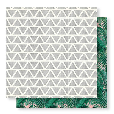 Crate Paper - Wild Heart 12x12 Paper - Retreat