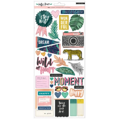 Crate Paper - Wild Heart 6x12 Stickers