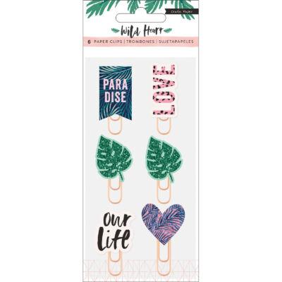 Crate Paper - Wild Heart Epoxy Paper Clips