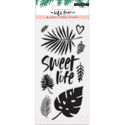 Crate Paper - Wild Heart Clear Stamp Set