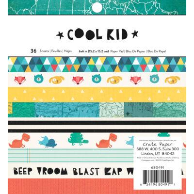 Crate Paper - Cool Kid 6 x 6 Paper Pad