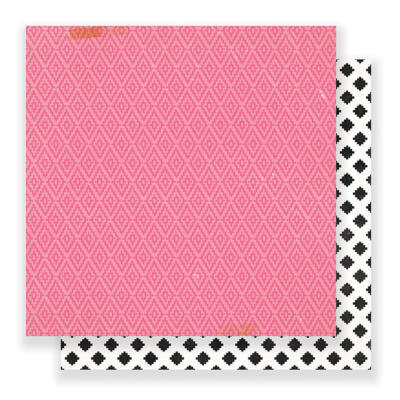 Crate Paper - Cute Girl 12 x 12 Double Sided Paper - Giggle