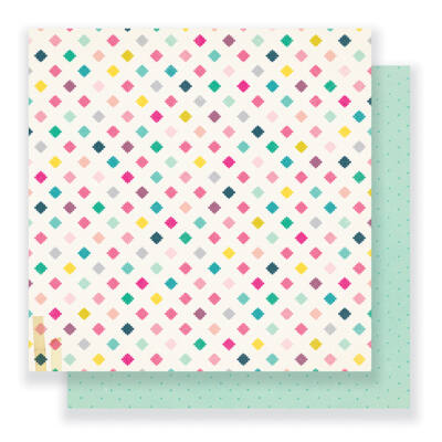 Crate Paper - Cute Girl 12 x 12 Double Sided Paper - Magical