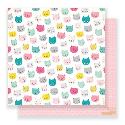 Crate Paper - Cute Girl 12 x 12 Double Sided Paper - Sassy