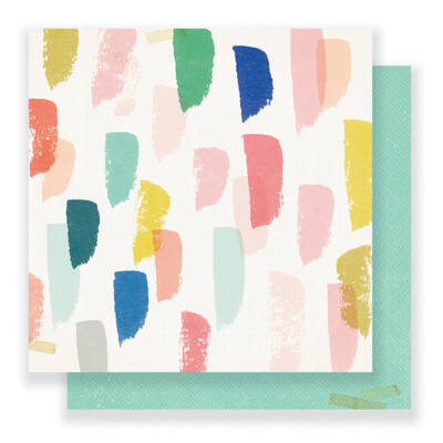 Crate Paper - Maggie Holmes - Gather 12 x 12 Double Sided Paper - Joyful