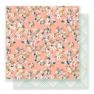 Crate Paper - Maggie Holmes - Gather 12 x 12 Double Sided Paper - Kate