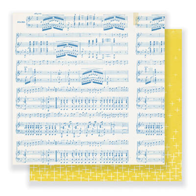 Crate Paper - Maggie Holmes - Gather 12 x 12 Double Sided Paper - Melody