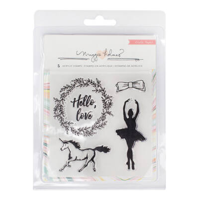 Crate Paper - Maggie Holmes - Gather Clear Acrylic Stamp Set