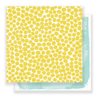 Crate Paper - Maggie Holmes - Gather 12 x 12 Double Sided Paper - Sunshine
