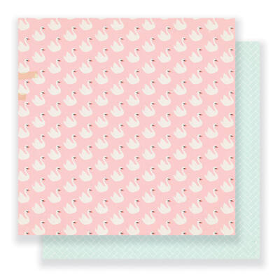 Crate Paper - Maggie Holmes - Gather 12 x 12 Double Sided Paper - Symphony