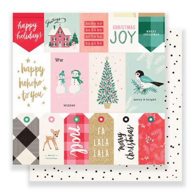 Crate Paper - Falala 12x12 Paper - Greetings Segítség