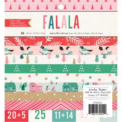 Crate Paper - Falala 6x6 Paper Pad