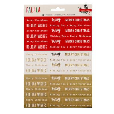Crate Paper - Falala Phrase Stickers