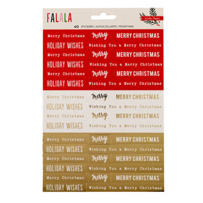 Crate Paper - Falala Phrase Stickers