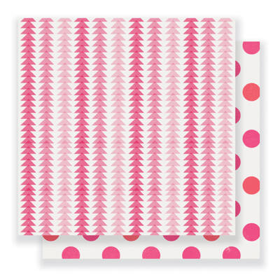 Crate Paper- Heart Day 12x12 Double Sided Paper - Delightful