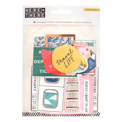 Crate Paper - Here & There Ephemera