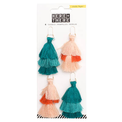 Crate Paper - Here & There Tiered Tassels