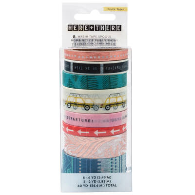 Crate Paper - Here & There Washi Tape Set
