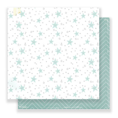 Crate Paper Little You 12 x 12 Double Sided Paper - Little Toes