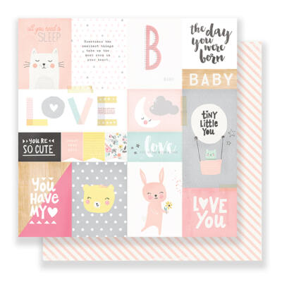 Crate Paper Little You 12 x 12 Double Sided Paper - My Sunshine