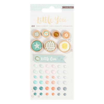 Crate Paper Little You - Boy Mixed Embellishments
