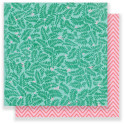Crate Paper Oasis 12 x 12 Double Sided Paper - Retreat
