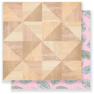 Crate Paper Oasis 12 x 12 Double Sided Paper - Spring Break