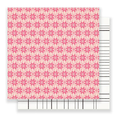 Crate Paper Snow & Cocoa 12 x 12 Double Sided Paper - Fallen Snow