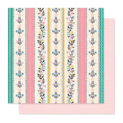Crate Paper - Maggie Holmes - Willow Lane 12x12 Paper - Bright Days