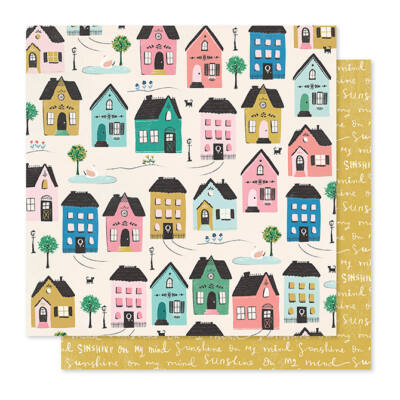 Crate Paper - Maggie Holmes - Willow Lane 12x12 Paper - Cottage