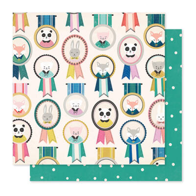 Crate Paper - Maggie Holmes - Willow Lane 12x12 Paper - Friendship