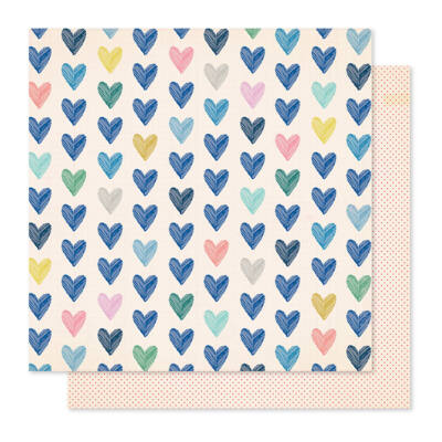 Crate Paper - Maggie Holmes - Willow Lane 12x12 Paper - Kind Heart