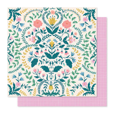 Crate Paper - Maggie Holmes - Willow Lane 12x12 Paper - Sentiment