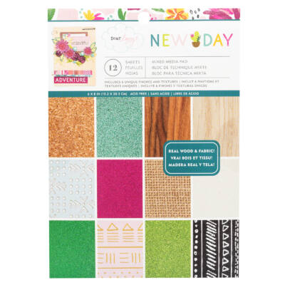 Dear Lizzy - New Day 6x8 Paper Pad 12 Sheets