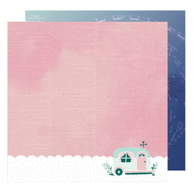 Dear Lizzy - Star Gazer 12x12 Paper - Magical
