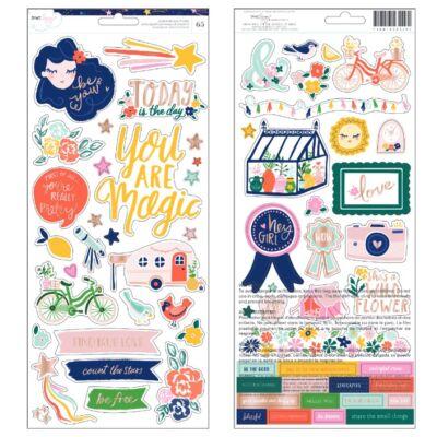 Dear Lizzy - Star Gazer 6x12 Stickers