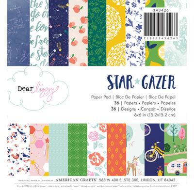 Dear Lizzy - Star Gazer 6x6 Paper Pad