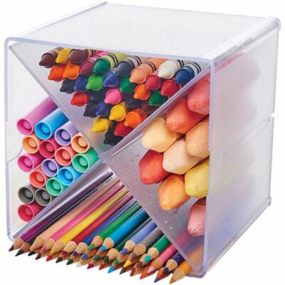 Deflecto Storage Organizer - X-Divided