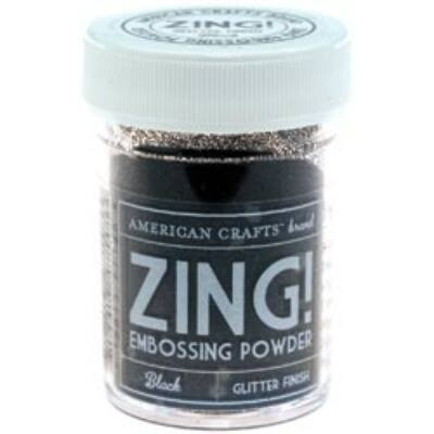 Zing! Opaque Embossing Powder - fekete