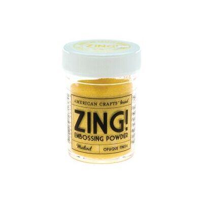 Zing! Opaque Embossing Powder - Mustard