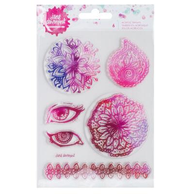 Jane Devanport Acrylic Stamps - Mandala
