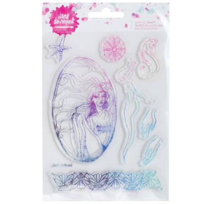 Jane Devanport Acrylic Stamps - Mermaid
