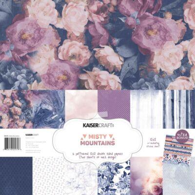 Kaisercraft Misty Mountains - 12x12 Paper Pack