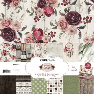 Kaisercraft Gypsy Rose - 12x12 Paper Pack
